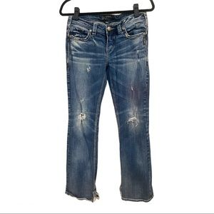 Silver Jeans Aiko Mid Boot Size 29